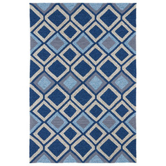 Buy Kaleen Home and Porch Area Rug in Blue - 2033-17 on sale online