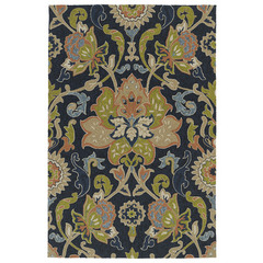 Buy Kaleen Home and Porch Area Rug in Navy - 2042-22 on sale online
