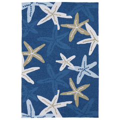 Buy Kaleen Matira Rectangle Area Rug in Blue - MAT04-17 on sale online