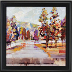 Buy Paragon Kaleidoscope Landscape Framed Wall Art on sale online