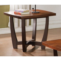 Buy Steve Silver Kenzo 28 Inch Square End Table in Cherry on sale online