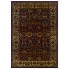 Buy Oriental Weavers Sphinx Kharma Traditional Red Rug - KHA-332C4 on sale online