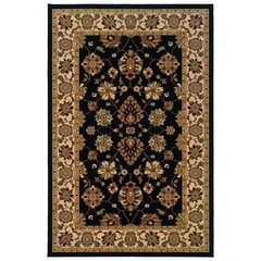 Buy Oriental Weavers Sphinx Knightsbridge Traditional Black Rug - KNI-122K5 on sale online