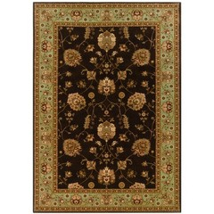 Buy Oriental Weavers Sphinx Knightsbridge Traditional Brown Rug - KNI-711V5 on sale online