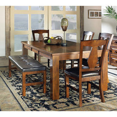 Buy Steve Silver Lakewood 6 Piece 60x42 Dining Room Set on sale online