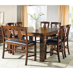 Buy Steve Silver Lakewood 8 Piece 60x40 Counter Height Set on sale online