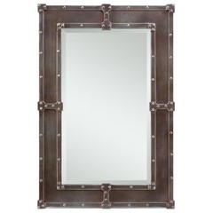 Buy Cooper Classics Lamare Mirror in Copper on sale online