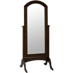Buy Cooper Classics Laurel 68x27 Cheval Mirror in Rustic Mahogany on sale online