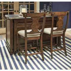Buy Legacy Classic Furniture Barrington Farm Kitchen Island w/ 2 Pub Chairs on sale online