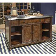 Buy Legacy Classic Furniture Barrington Farm Kitchen Island w/ Pull Out Service Surface on sale online