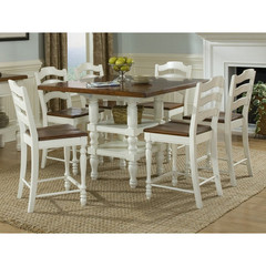 Buy Legacy Classic Furniture Concord White 7 Piece 48x24 Pub Table Set on sale online