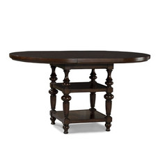 Buy Legacy Classic Furniture Davenport 48 Inch Round to Oval High/Low Table w/ 20 Inch Leaf on sale online