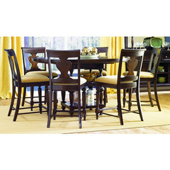 Buy Legacy Classic Furniture Davenport 7 Piece 48 Inch Round Pub Table Set on sale online