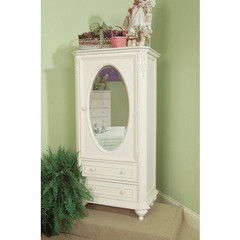 Buy Legacy Classic Kids Enchantment Wardrobe w/ Mirrored Door and 2 Drawers at Base on sale online