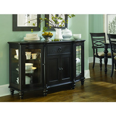 Buy Legacy Classic Furniture Glen Cove Espresso Credenza w/ Puck Lights and Touch Dimmer on sale online