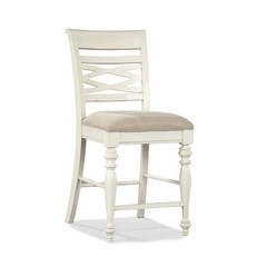Buy Legacy Classic Furniture Glen Cove White Pub Chair on sale online