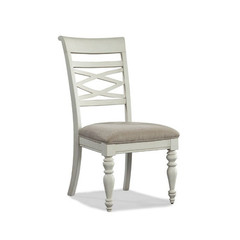 Buy Legacy Classic Furniture Glen Cove White X Back Side Chair on sale online