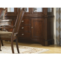 Buy Legacy Classic Furniture American Traditions Buffet w/ 2 Doors and Adjustable Shelves on sale online