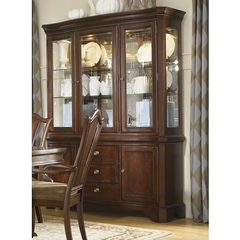 Buy Legacy Classic Furniture American Traditions Complete Buffet w/ China Hutch on sale online