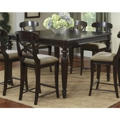 Buy Legacy Classic Furniture Austin Place 56x40 Rectangular to Square Pub Table w/ 16 Inch Leaf on sale online