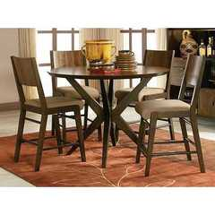 Buy Legacy Classic Furniture Kateri 5 Piece 50x50 Round Pub Table Set on sale online