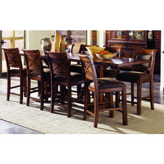 Buy Legacy Classic Furniture Larkspur 9 Piece 76x36 High Dining Table Set on sale online