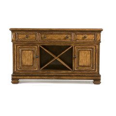 Buy Legacy Classic Furniture Larkspur Credenza w/ Granite Top on sale online