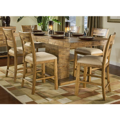 Buy Legacy Classic Furniture Latitude 7 Piece 48x40 Pub Table Set on sale online