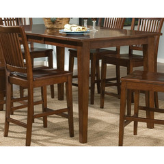 Buy Legacy Classic Furniture Newbridge 54x38 Rectangular Pub Table w/ 12 Inch Leaf and Solid Wood Top on sale online