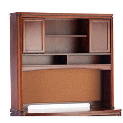 Buy Legacy Classic Kids Newport Beach Desk Hutch w/ 2 Sliding Doors and Corkboard on sale online
