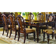 Buy Legacy Classic Furniture Royal Traditions 66x44 Rectangular Leg Table w/ Two 18 Inch Leaves on sale online