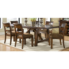 Buy Legacy Classic Furniture Woodland Ridge 7 Piece 72x40 Table Dining Room Set on sale online