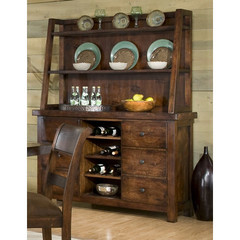 Buy Legacy Classic Furniture Woodland Ridge Complete Credenza w/ Hutch on sale online