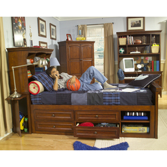 Buy Legacy Classic Kids American Spirit Bookcase Bed w/ Rails on sale online