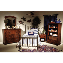 Buy Legacy Classic Kids American Spirit 5 Piece Off Black Metal Kids Bedroom Set on sale online