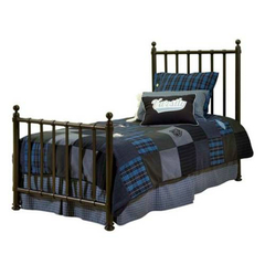 Buy Legacy Classic Kids American Spirit Off Black Metal Bed on sale online