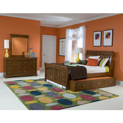 Buy Legacy Classic Kids Cinnamon 3 Piece Sleigh Kids Bedroom Set on sale online