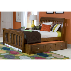 Buy Legacy Classic Kids Cinnamon Sleigh Bed on sale online