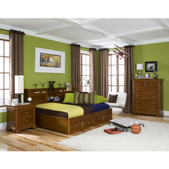 Buy Legacy Classic Kids Cinnamon 3 Piece Storage Lounge Kids Bedroom Set on sale online