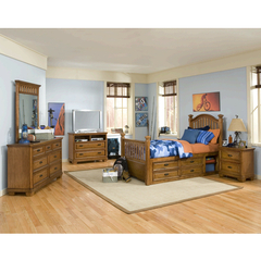 Buy Legacy Classic Kids Expedition 3 Piece Low Post Kids Bedroom Set on sale online