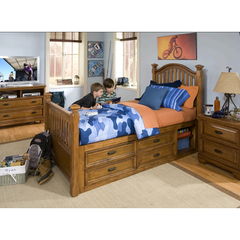 Buy Legacy Classic Kids Expedition Low Post Bed w/ Storage on sale online