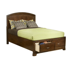 Buy Legacy Classic Kids Newport Beach Panel Bed w/ Storage Footboard on sale online