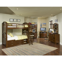 Buy Legacy Classic Kids Newport Beach 4 Piece Twin over Twin Bunk Kids Bedroom Set on sale online
