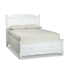 Buy Legacy Classic Kids Olivia Low Poster Bed w/ Storage Footboard on sale online