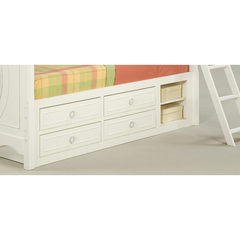 Buy Legacy Classic Kids Reflections Underbed Storage Unit w/ Panel Rail and 4 Drawers on sale online
