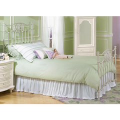 Buy Legacy Classic Kids Reflections White Metal Bed on sale online