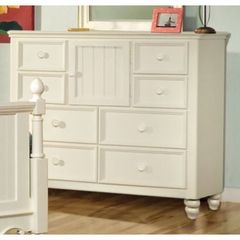 Buy Legacy Classic Kids Summer Breeze 8 Drawer Bureau w/ Door on sale online