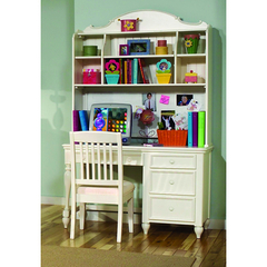 Buy Legacy Classic Kids Summer Breeze Computer Desk Hutch w/ 2 Baskets on sale online