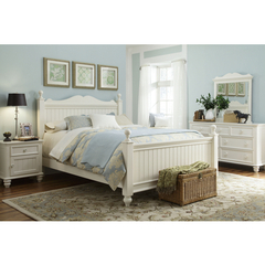 Buy Legacy Classic Kids Summer Breeze 4 Piece Low Poster Kids Bedroom Set w/ Nightstand on sale online