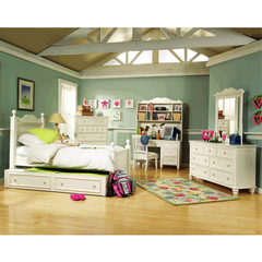 Buy Legacy Classic Kids Summer Breeze 3 Piece Low Poster Kids Bedroom Set on sale online